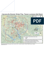 Special Subject Map of Haynesville-Bossier Shale, Texas and Louisiana Salt Basin