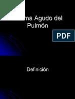 Edema Agudo del Pulmón