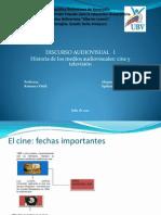 Medios audiovisuales cine y televisión (MS)