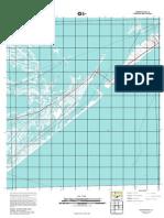 Topographic Map of Caminada Pass