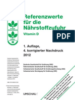 Referenzwerte 2012 Vitamin D