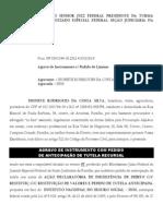 Agravo de Instrumento Com Pedido de Tutela Recursal - Dionate Rodrigues Da Costa Silva X INSS