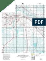 Topographic Map of Houma