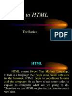 1 Intro to HTML