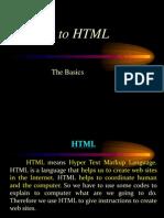 1 Intro to HTML
