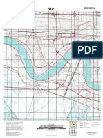 Topographic Map of New Orleans West
