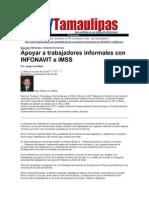 LERA2. Apoyar a Trabajadores Informales Con Infonavit e IMSS. 10.7.12