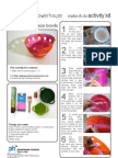 Lace Papier Mache Bowls