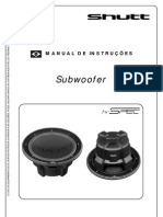 ShuttL Manual Subwoofer