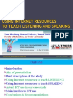 ICTEV 2012-Xuan Thu Dang-using Internet Resources to Teach Listening & Speaking