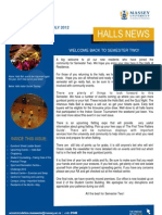 Halls News Issue Four 2012