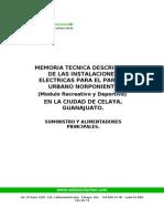 Memoria Tecnica Electrica