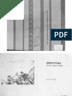 Arquitetura, forma, espaço e ordem (parte 1)