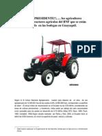 SEÑOR PRESIDENTE-tractores