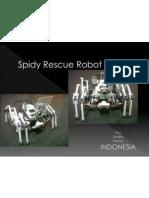 Spidy Rescue Robot (Mts Pkp Jis)