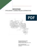 MOTORES ROTATIVOS. Tipologías y combustibles alternativos.