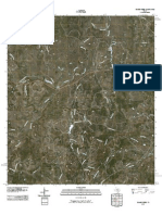 Topographic Map of Yeager Creek