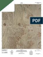 Topographic Map of Yellow House Peak