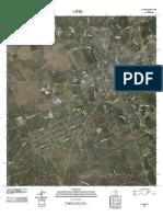 Topographic Map of Uvalde