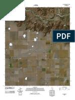 Topographic Map of Wayside