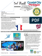 July 11, 2012 Bulletin - Crystal City-Pentagon Rotary Club