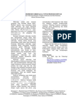 Kultivasi Dan Bioproses Mikroalga (Porphyridium cruentum)
