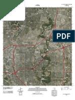 Topographic Map of San Antonio East