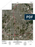 Topographic Map of Oak Cliff