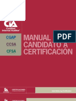 Certification Handbook Spanish 0210 Addendum