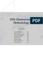 HDI - Methodology & Dimensions.pptx