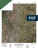 Topographic Map of Navasota