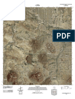 Topographic Map of Packsaddle Mountain