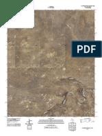 Topographic Map of Sanchez Springs