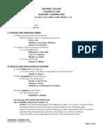 Statutory Construction - Notes