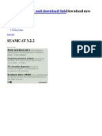SEAMCAT 3.2.2 - Software Review and Download Link
