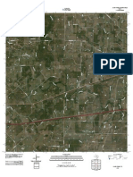 Topographic Map of Sandy Fork