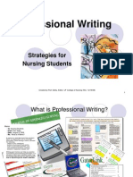Professional Writing Strategies for Con Students