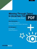 Winning Through Talent