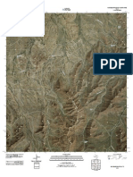 Topographic Map of Old Blue Mountain
