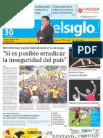 Edicion Impresa El Siglo Maracay Lunes 30072012