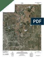 Topographic Map of Wichita Falls East