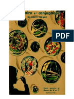 Langue Française Grammaire et Conjugaison en couleur CE1 CE2 1963