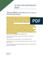 A Roadmap for the Australian Stockmarket
