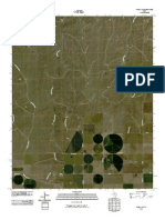 Topographic Map of Pampa NW