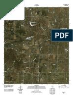 Topographic Map of Oplin