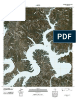 Topographic Map of Mansfield Dam