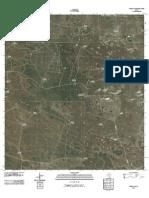 Topographic Map of Sarita SW