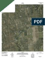 Topographic Map of La Pryor SE