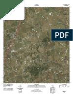 Topographic Map of Jarrell