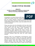 Draft Pedoman Gerakan Nasional Sadar Gizi Februari 2012